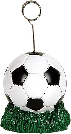 Paquete de 6 blanco y negro balón de fútbol foto o soporte ...