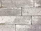 2.5x9.5 London Soft Gray Smoke Glazed Extruded Brick Wall Field Tile (BOX OF 10)