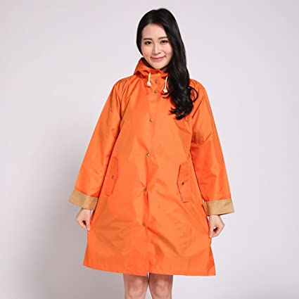 52f00fd790f QFFL Raincoat Fashion Breathable Waterproof Raincoat Mountaineering Walk  Poncho Adult Long Hiking Raincoat Jacket 3 Color