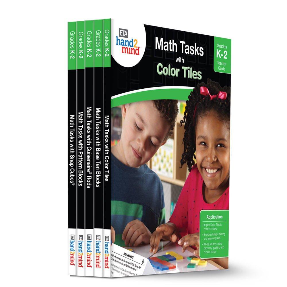 ETA hand2mind Math Tasks Library Books, Grades K-2