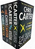 Chris Carter Collection 4 Books Set,(The Executioner The Death Sculptor The Night Stalker,The Crucifix Killer)