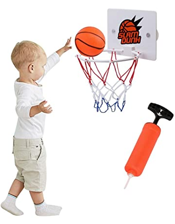 374e44b0f6c per Kids Mini Basketball Toy Set with Portable Basketball Hoop  Pump Indoor  Outdoor Sports Kit for