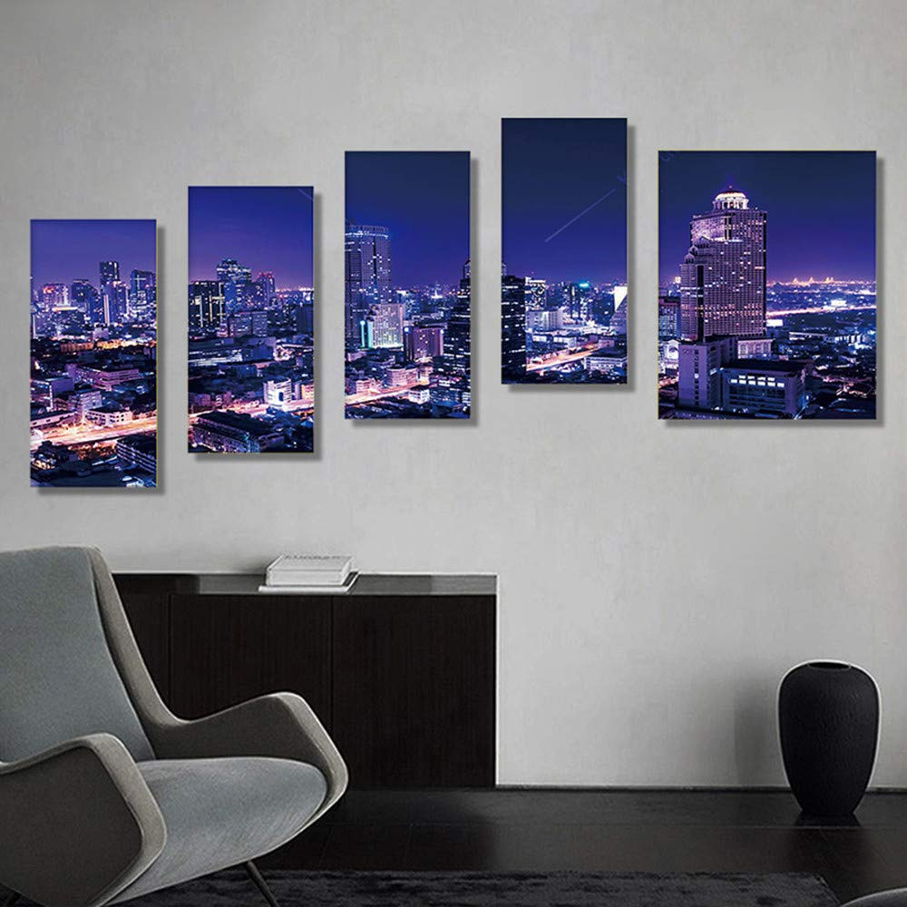 5D Diamond Painting Full Drill Combination Picture Embroidery Paint with Diamonds Wall Sticker for Wall Decor,95x45cm
