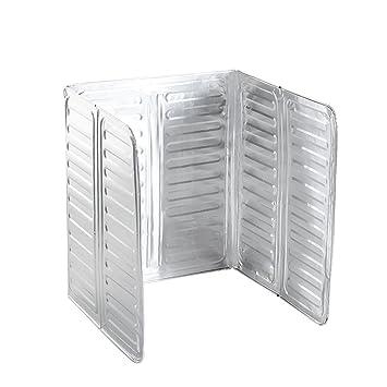 AzuNaisi Aceite de placas desviadoras espesado del papel de aluminio de cocina de aceite a prueba