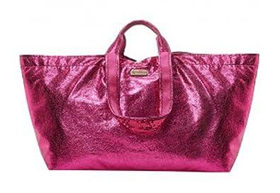 Shopper Tasche croco rosegold Strandtasche Gr.1 60 x 25 x 30 cm brasi & brasi TuZCfl2