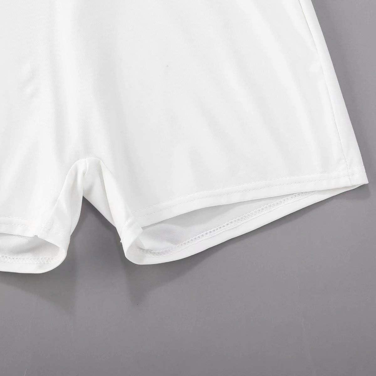 Pantalones Cortos El/ásticos de Cintura Alta Entrenamiento de Culturismo Conjunto de Ch/ándal de Verano para Mujer 2 Piezas Sujetadores Deportivos