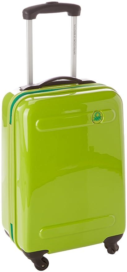Benetton Maleta Con Ruedas SLASH_58373346_VERDE 41 L