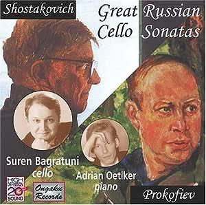 Great Russian Cello Sonatas