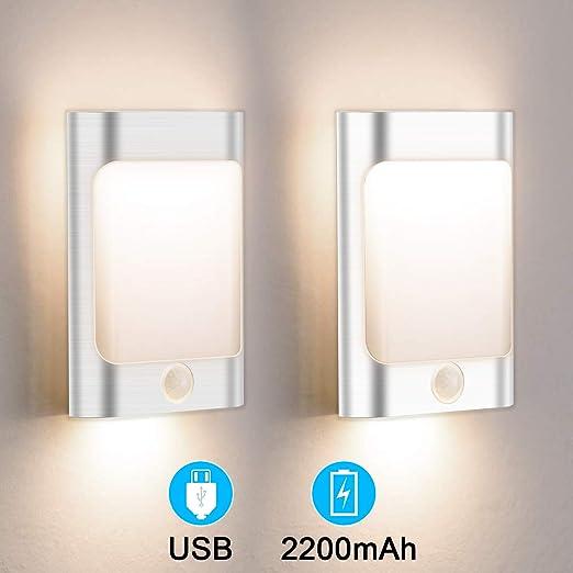 DEL Mur Extérieur Lampes plat avec capteur de mouvement-Appliques pour l/'éclairage de cour