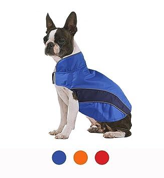 FishBabe - Chaleco impermeable para mascotas, deportivo, de invierno para perros pequeños y medianos, acolchado reflectante, ...