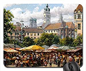 Bavarian market... Mouse Pad, Mousepad (10.2 x 8.3 x 0.12 inches)