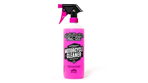 Muc Off 664us Pink Nano Tech Motorcycle Cleaner, 35.2 Fluid Ounces