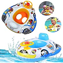 Funny Kids Baby Inflatable Swimming Pool Ring Child Inflatable Swimming laps Pool Swim Ring Seat Float Boat Water Sports Toy