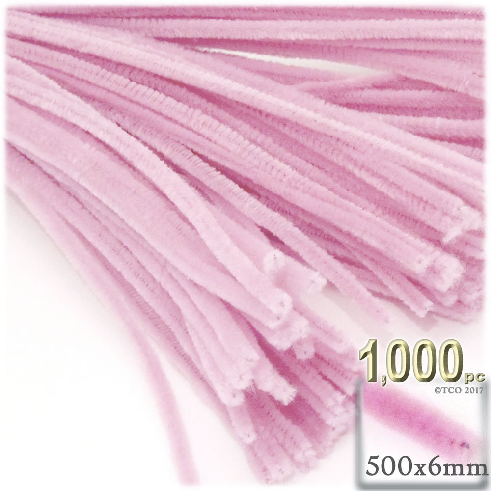 The Crafts Outlet Chenille Stems, Pipe Cleaner, 20-inch (50-cm), 1000-pc, Light Brown by The Crafts Outlet (Image #4)