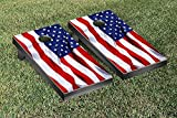 Victory Tailgate Country Flag United States Us Flag Wavy Version 1 Cornhole Game Set