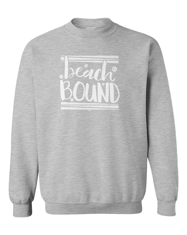 Tcombo Beach Bound Summer Cool Youth Fleece Crewneck Sweater