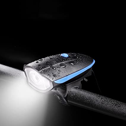HNJZ La Bicicleta Enciende La Linterna del Coche USB Que ...