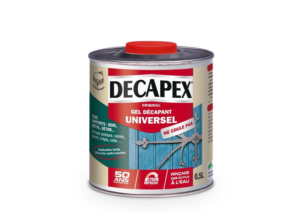 Dé capant gel Universel, Decapex - 0,5L PPG 343575