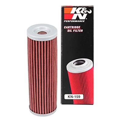 K&N Motorcycle Oil Filter: High Performance, Premium, Designed to be used with Synthetic or Conventional Oils: Fits Select Ducati Motorcycles, KN-159: Automotive