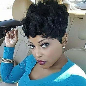 Amazon.com : HAIRCUBE Short Afro Human Hair