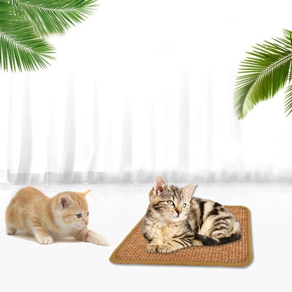 Gatto//Gattini per rettifica mobili protettivi JSMeet Tappetino per Gatti Ricambio per Graffi per Gatti Tiragraffi Motivo per Gatti Pad in Cartone Naturale Sisal Cat Scratcher