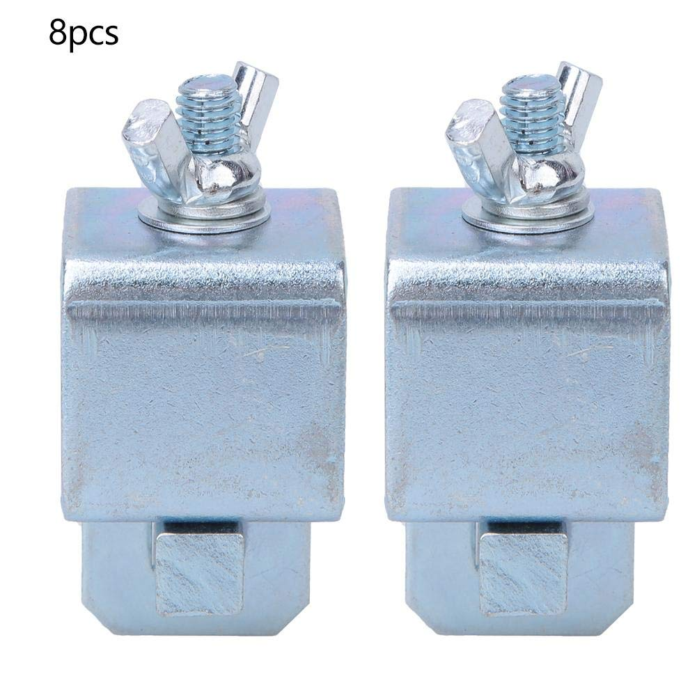 Stumpfschwei/ßklemme rostfrei 8 St/ück Blech-Stumpfschwei/ßklemmen f/ür PKW-LKW-T/ürverkleidung f/ür gerade oder gebogene Verkleidungen