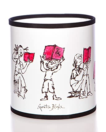Tischlampe gezeichnet  Quentin Blake Lampenschirm für Tischlampe, mit Illustrationen ...