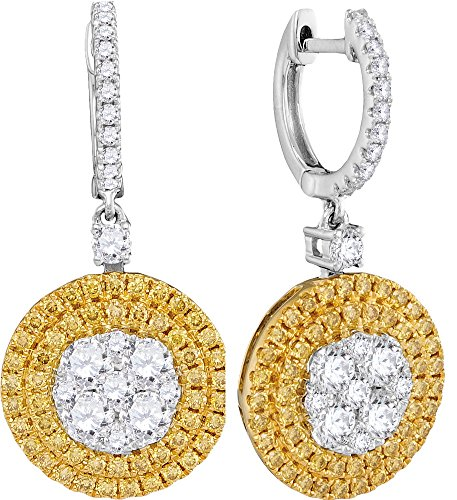 2 1/3 Total Carat Weight DIAMOND FASHION EARRINGS