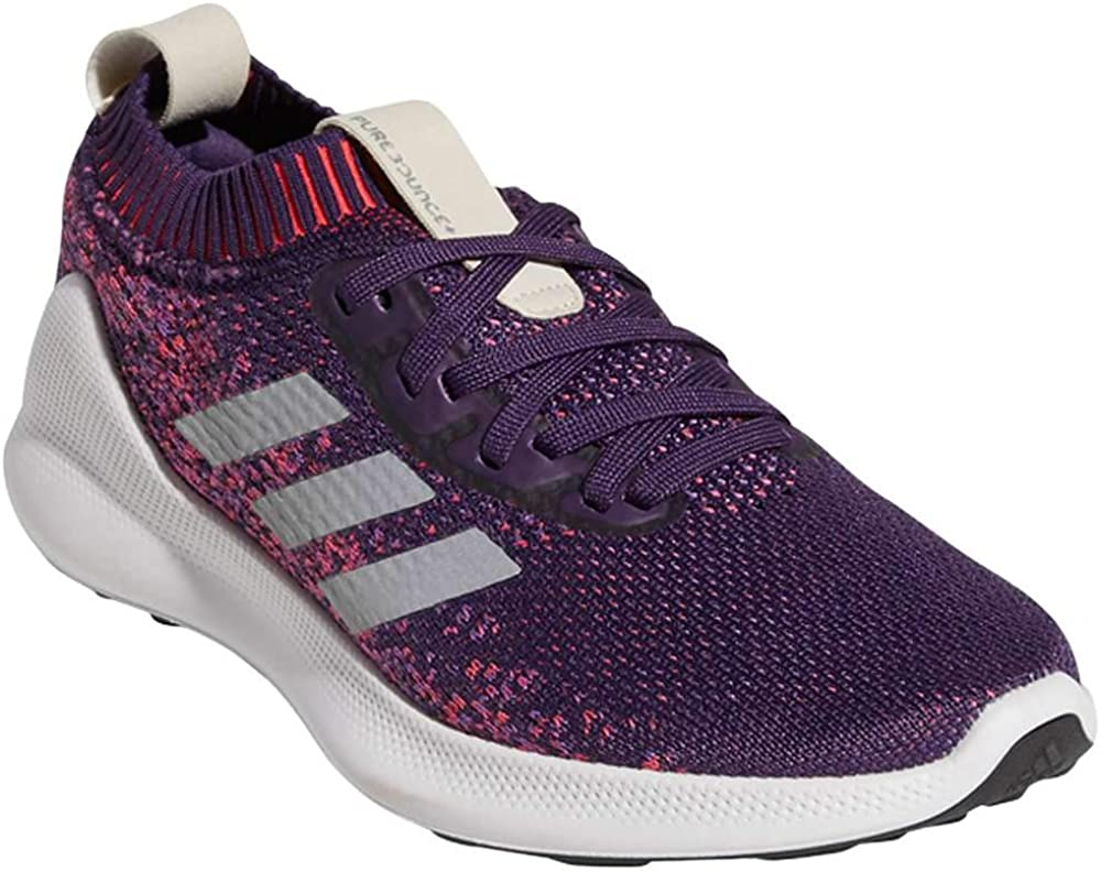 Emulación Lluvioso esquina  Amazon.com | adidas Women's Purebounce Plus Running Shoes  LegendPurple/SilverMetallic/ActPurple 9 | Shoes