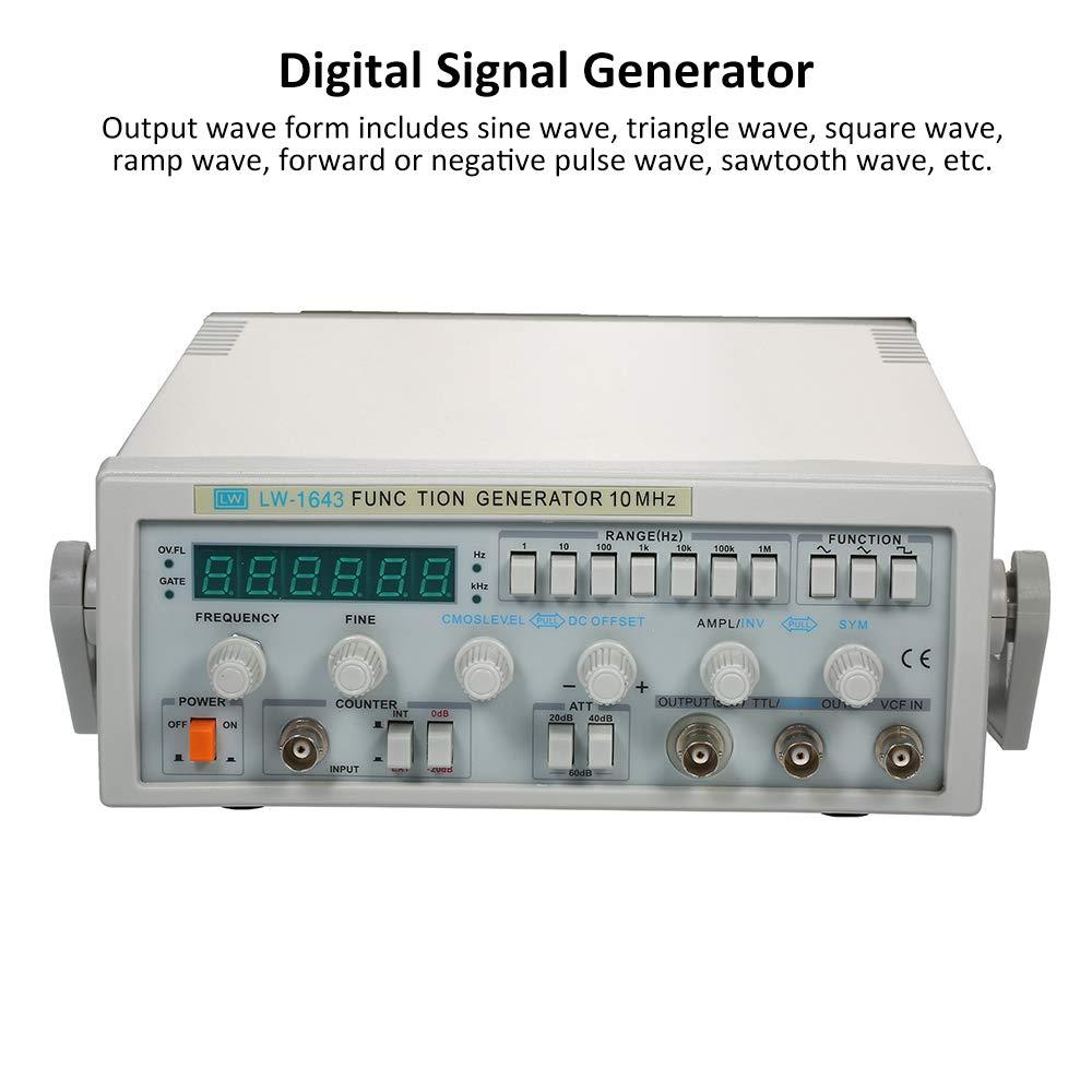 Function Signal Generator Sine Triangle Square Positive//Negative pulse Wave BEST