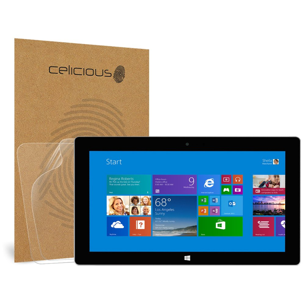 Celicious Matte Anti-Glare Screen Protector Film Compatible with Microsoft Surface Pro 2 [Pack of 2] by Celicious