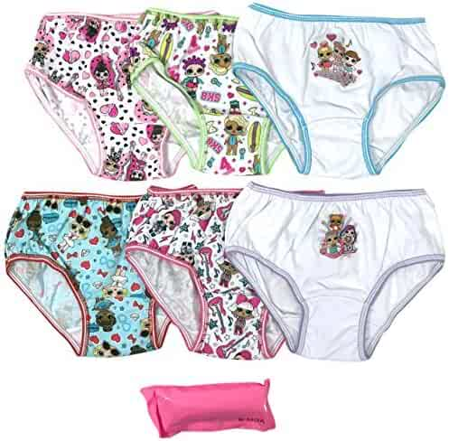 L.O.L. Surprise! Girls' 7-Pack LOL Surprise Underwear Panty