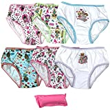 Handcraft Little Girl's 7-Pack LOL Surprise Underwear Panty Underwear, lola Surprise/Multi, 4