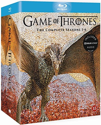 Game of Thrones - Season 1-6 [Blu-ray] [Region Free] [UK Import] by