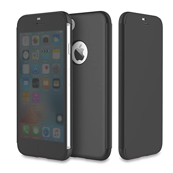 clear flip case iphone 8