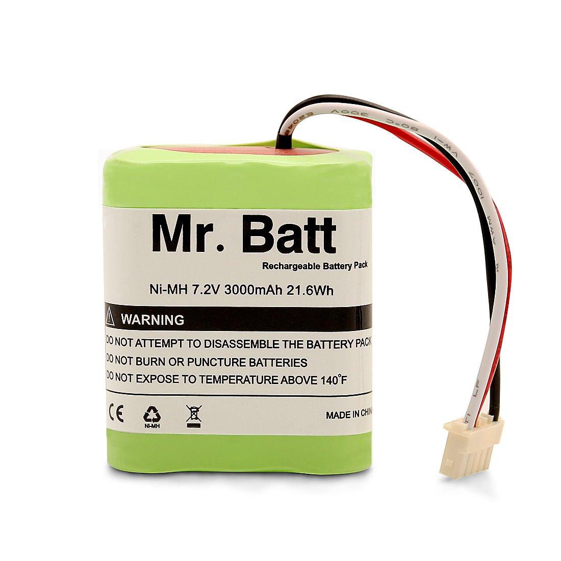 Mr.Batt Replacement Battery for iRobot Braava 380t Battery for Braava 380, Mint 5200, 7.2 Volt 3000mAh by Mr.Batt