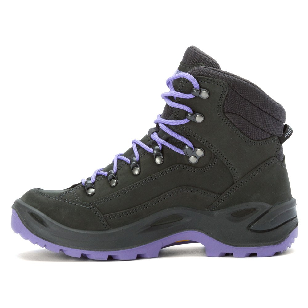 Lowa Women's Renegade GTX Mid Hiking Boot B00MNPUXSY 8 D(M) US|Anthracite/Litac