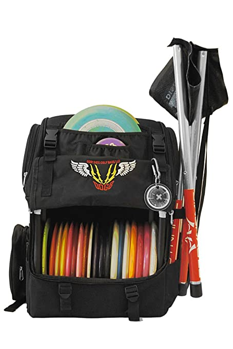 4897121a2bff07 Amazon.com : Odin Disc Golf Bag - Large Disc & Accessory Capacity : Sports  & Outdoors