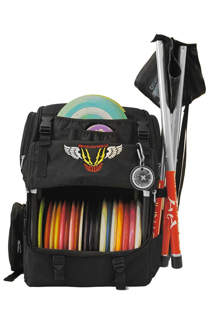 Odin Disc Golf Bag - Large Disc & Accessory Capacity