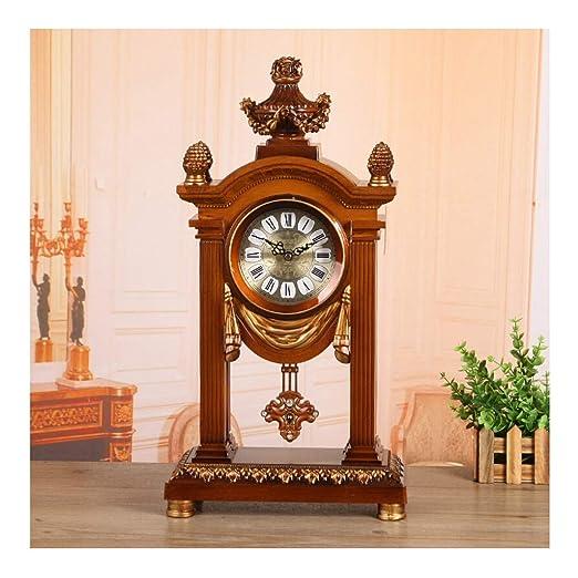 Yxx max -Reloj de Mesa Reloj de Escritorio, Retro Europeo Sala ...