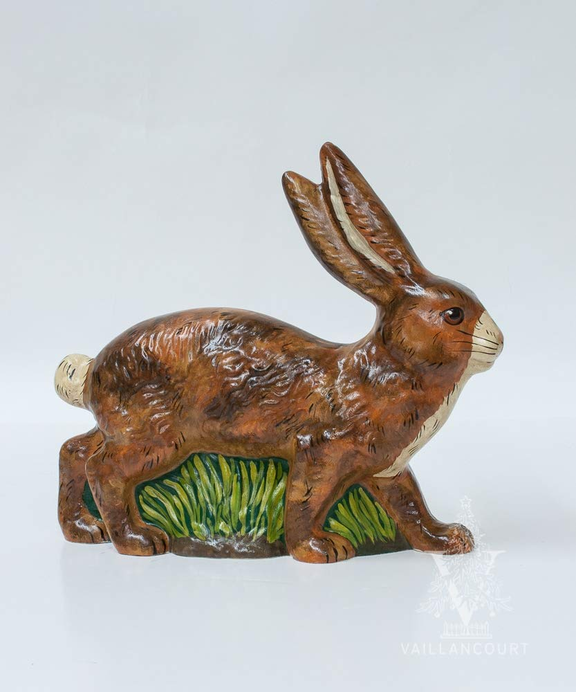 Vaillancourt Folk Art Large Sprawling Rabbit