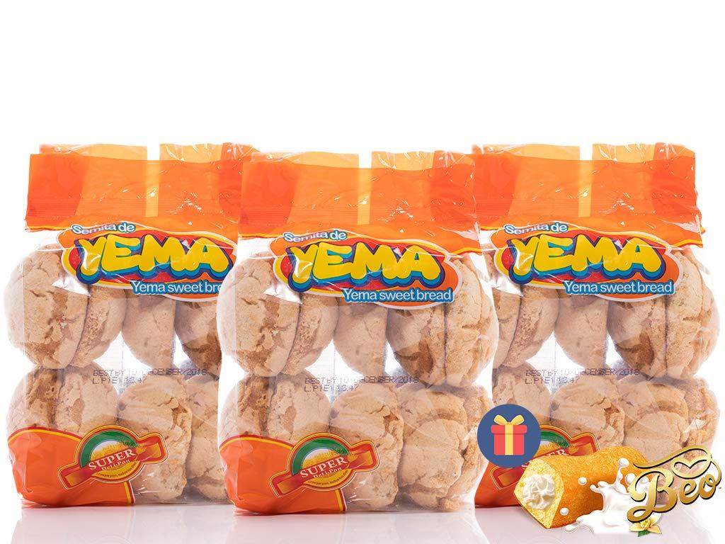 DMP Semita de Yema / Yema Sweet Bread 12-PACK - 1 FREE BEO GIFT