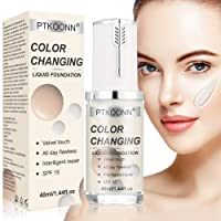 Liquid Foundation,Foundation Cream,Flawless Colour Changing Foundation,Hides Wrinkles...