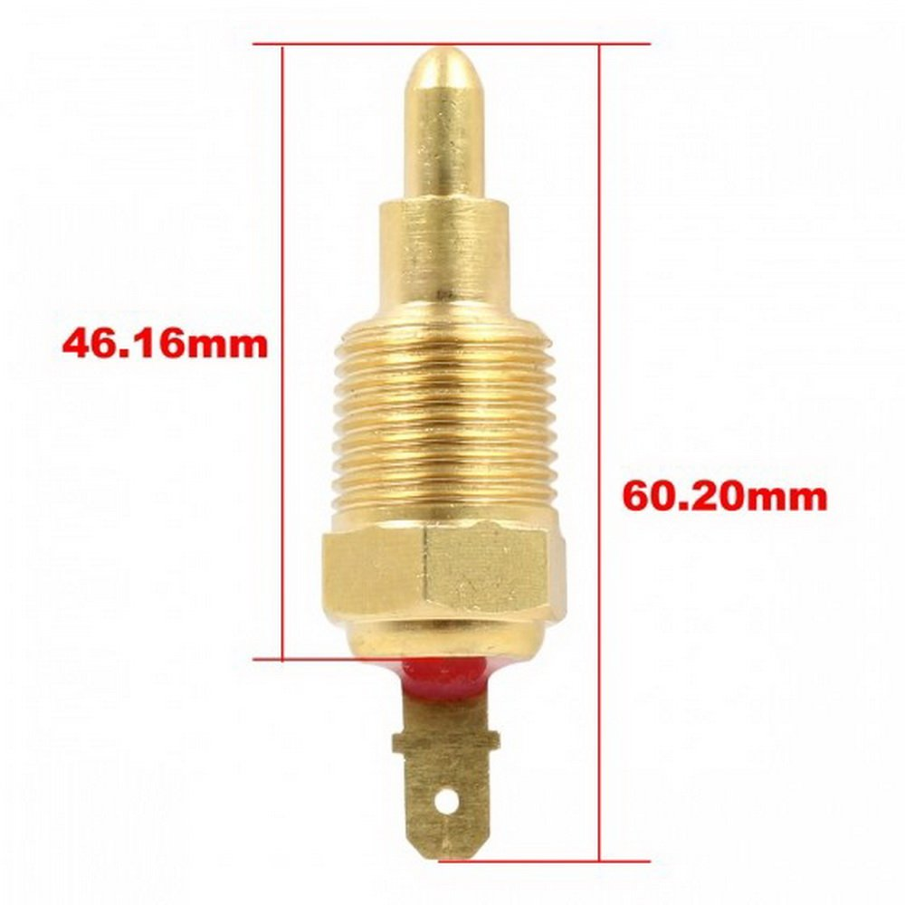 Partssquare New 185 Degree On 170 Off Radiator Cooling Fan Engine Coolant Temperature Switch Thermostat Kit Compatible