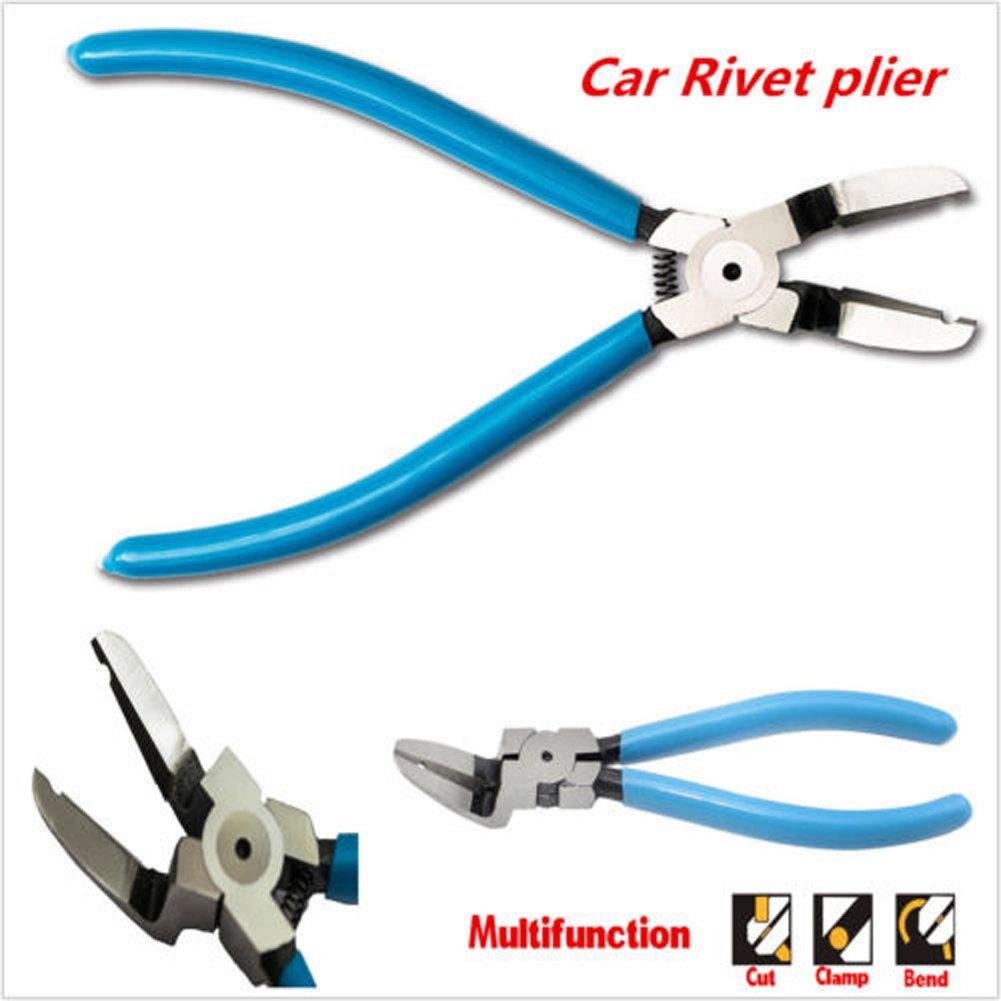Car Special Fastener Tool Mutipurpose Diagonal Plier Car Trim Rivets Fastener Trim Clip Cutter Remover Puller Tool … by CUagain (Image #4)