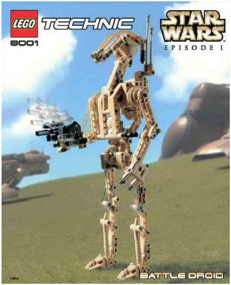 LEGO Technic Star Wars Battle Droid (8001)