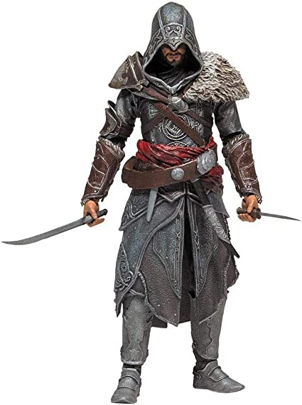 Amazon Com Mcfarlane Toys Assassins Creed Series 3 Ezio Auditore Da Firenze Figure Toys Games
