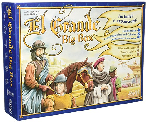 Z-Man Games El Grande Big Box