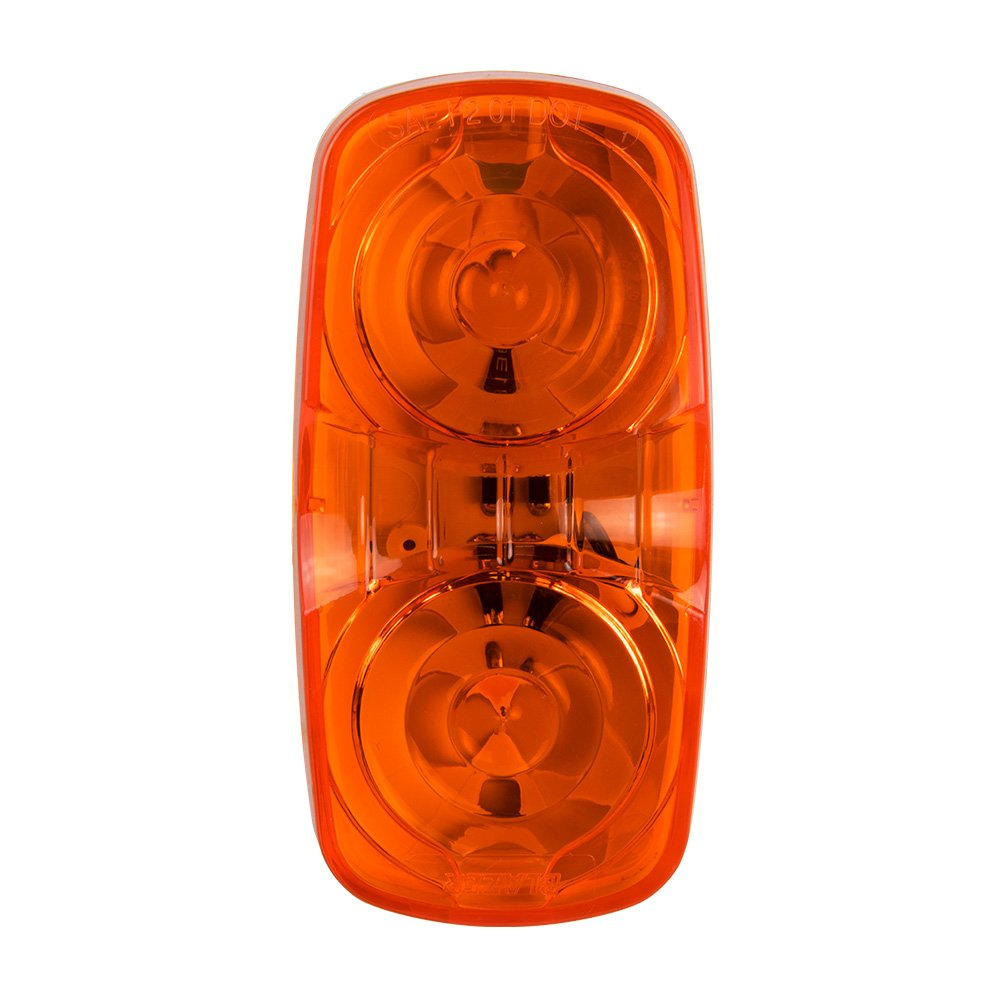 Blazer C539A Amber LED Double Bullseye Side Marker Light-1 each Blazer International Trailer & Towing Accessories