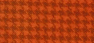 """product image for Weeks Dye Works Wool Fat Quarter Houndstooth Fabric, 16"""" by 26"""", Pumpkin"""